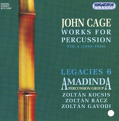 John Cage: Works for Percussion, Vol. 4