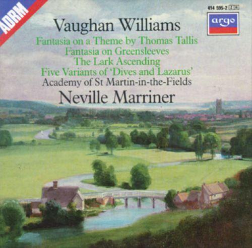 Vaughan Williams: Fantasies; The Lark Ascending; Five Variants