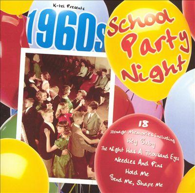 1960s School Party Night