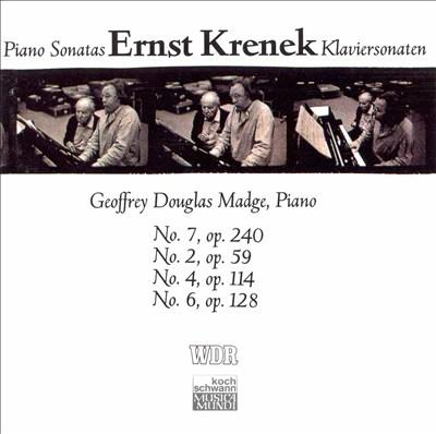 Ernst Krenek: Piano Sonatas