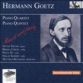 Hermann Goetz: Piano Quartet; Piano Quintet