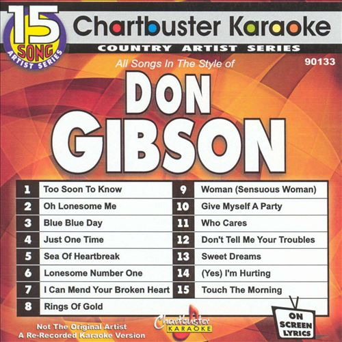 Chartbuster Karaoke: Don Gibson