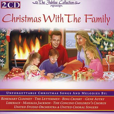Family Christmas and Children Sing
