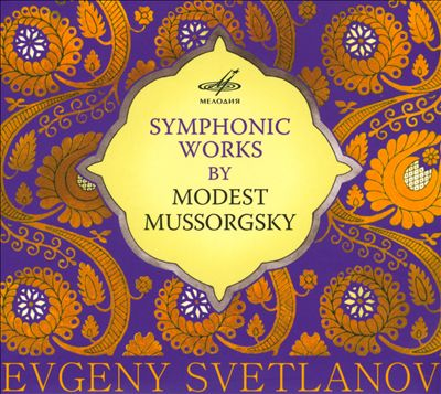 Symphonic Works by Modest Mussorgsky