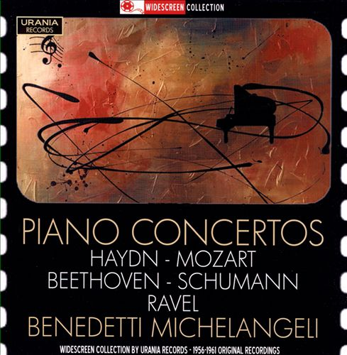 Piano Concertos by Haydn, Mozart, Beethoven, Schumann, Ravel