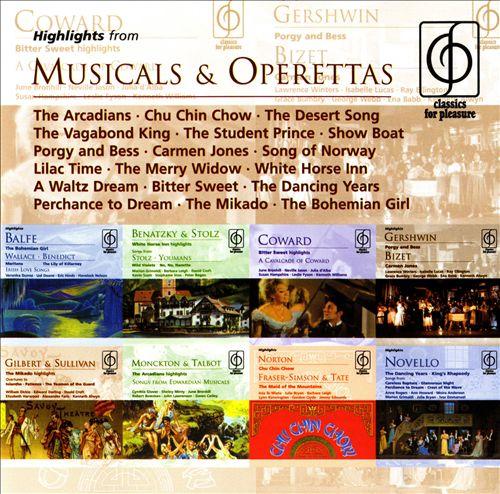 Highlights from Musicals & Operettas