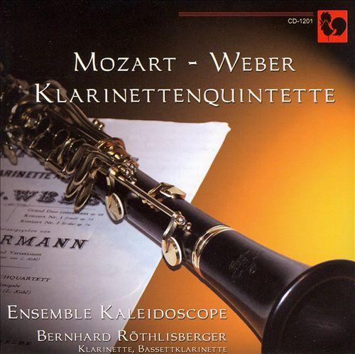 Mozart, Weber: Klarinettenquintett