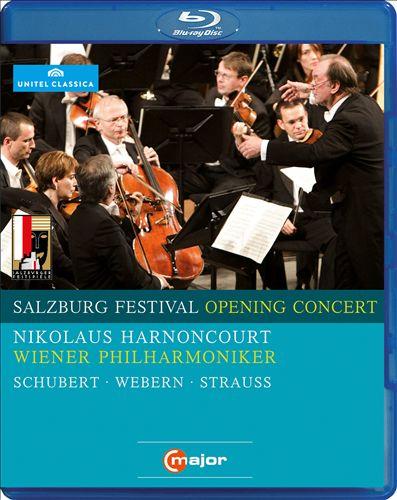 Salzburg Festival Opening Concert, 2009: Schubert, Webern, Strauss [Video]
