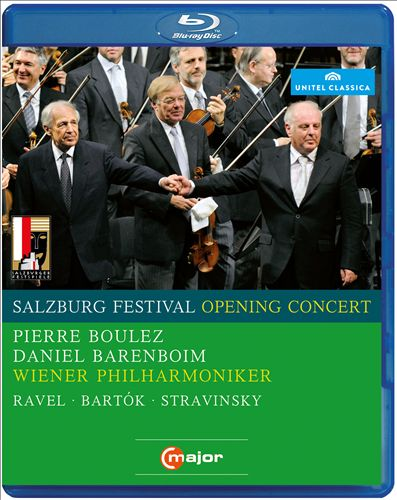 Salzburg Festival Opening Concert, 2008: Ravel, Bartók, Stravinsky [Video]