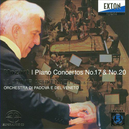 Mozart: Piano Concertos Nos. 17 & 20
