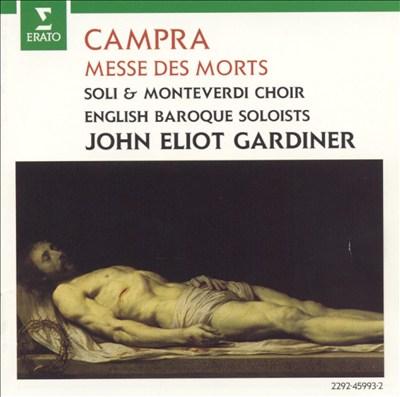 André Campra: Requiem (Messe des morts)