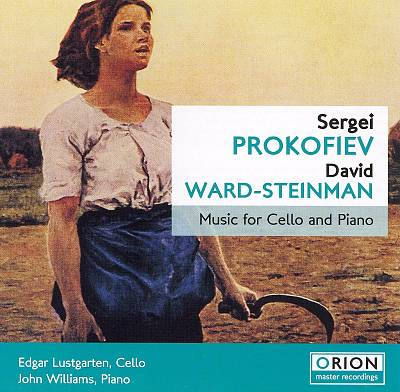 Music for Cello and Piano by Sergei Prokofiev & David Ward-Steinman
