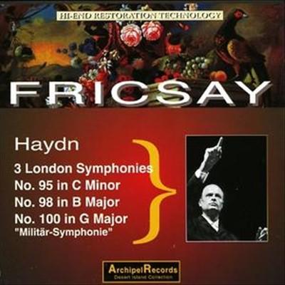 Haydn: 3 London Symphonies No. 95, No. 98, No. 100