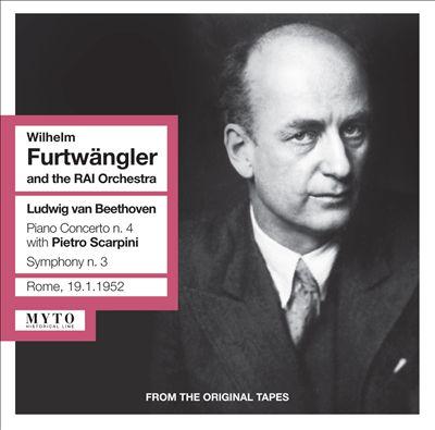 Beethoven: Piano Concerto No.4; Symphony No. 3