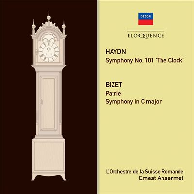 Haydn: Symphony No. 101 'The Clock'; Bizet: Patrie; Symphony in C major