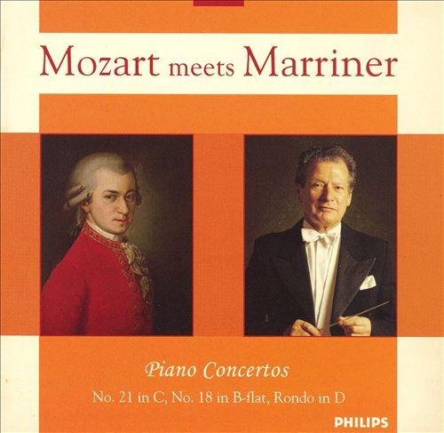 Mozart Meets Marriner: Piano Concertos
