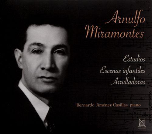 Arnulfo Miramontes: Estudios Escenas infantiles Arrulladoras