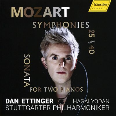 Mozart: Symphonies 25 & 40; Sonata for Two Pianos