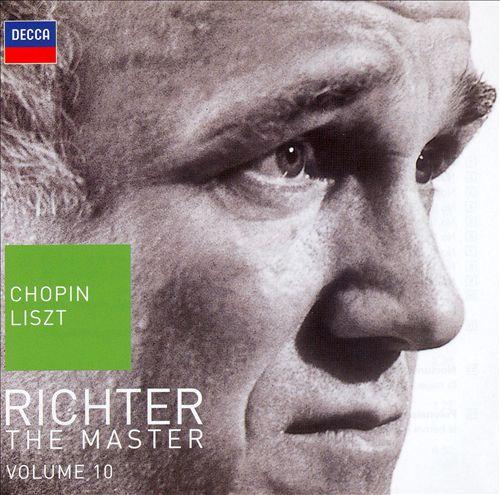 Richter the Master, Vol. 10: Chopin & Liszt