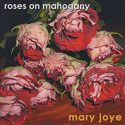 Roses on Mahogany