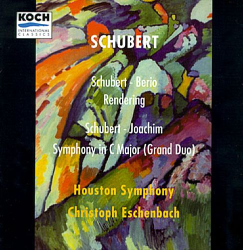 Schubert: Rendering/Symphony In C