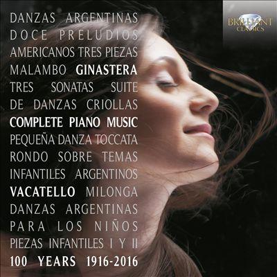 Alberto Ginastera: Complete Piano Music