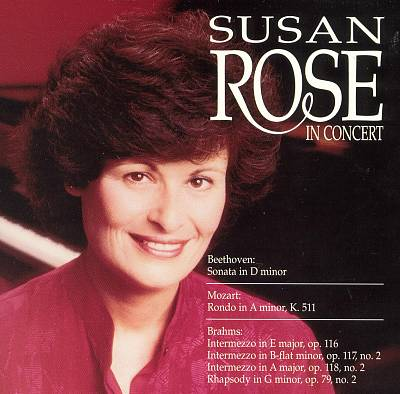Susan Rose in Concert