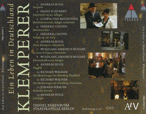 Klemperer: Ein leben in Deutschland [Original Soundtrack]