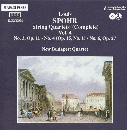 Spohr: Complete String Quartets, Vol. 4
