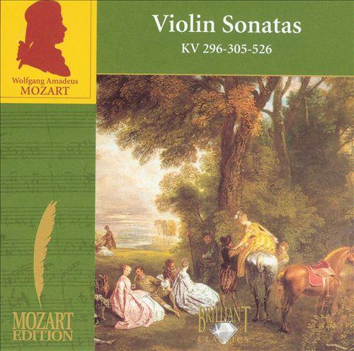 Mozart: Violin Sonatas KV 296, 305, 526