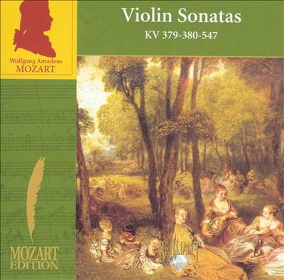 Mozart: Violin Sonatas KV 379, 380, 547