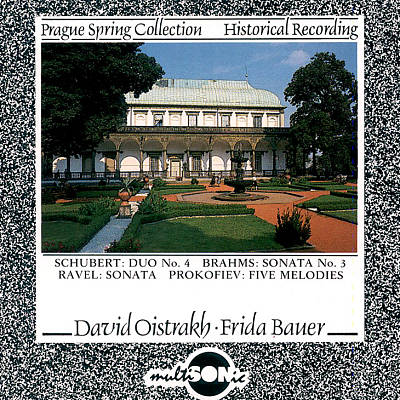 Prague Spring Collection: Schubert Duo No. 4; Brahms Sonata No. 3...