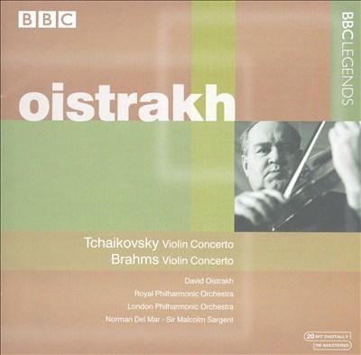 Tchaikovsky: Violin Concerto; Brahms: Violin Concerto