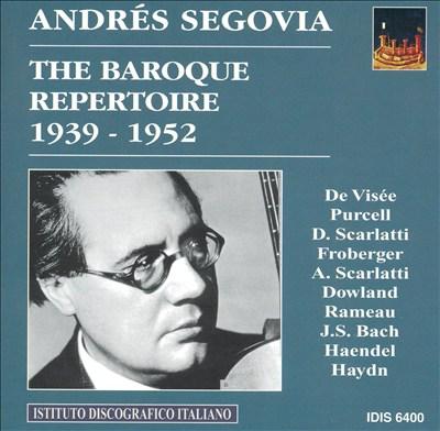 The Baroque Repertoire, 1939-1952