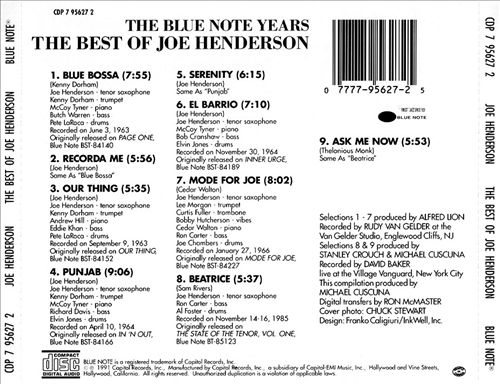 The Best of the Blue Note Years