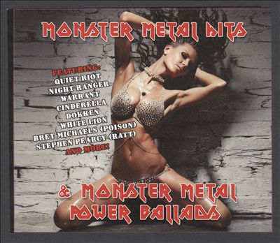 Monster Metal Hits & Power Ballads' 80s