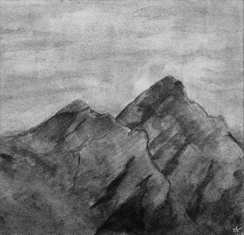Sentir Le Poids Des Montagnes et Trouver La Paix Dans Les Ténèbres