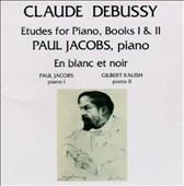 Debussy: Etudes for Piano, Books I & II; En blanc et noir