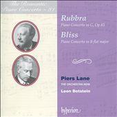 The Romantic Piano Concerto, Vol. 81: Rubbra, Bliss