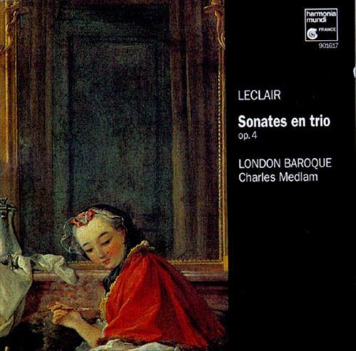 Leclair: Sonates en Trio, Op.4