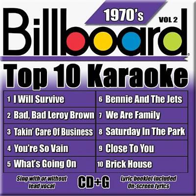 Billboard Top 10 Karaoke: 1970's, Vol. 2