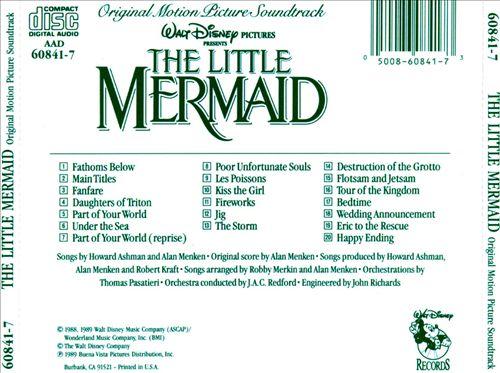 The Little Mermaid [Original Motion Picture Soundtrack]