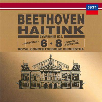 "Beethoven: Symphonies Nos. 6 ""Pastoral"", No. 8; Egmont Overture"