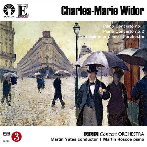 Widor: Piano Concertos Nos. 1 & 2; Fantaisie