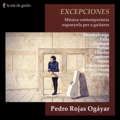 Excepciones: Música contemporània espanyola per a guitarra