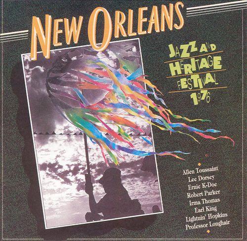 New Orleans Jazz & Heritage Festival, 1976