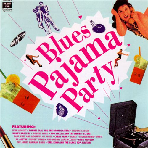 Black Top Blues Pajama Party
