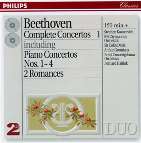 Beethoven: Complete Concertos, Vol. 1