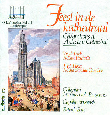 Celebrations at Antwerp Cathedral