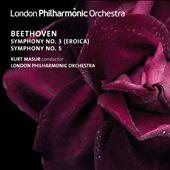 Beethoven: Symphony No. 3 (Eroica); Symphony No. 5